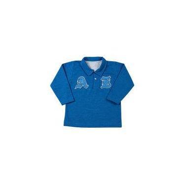 Blusa Infantil Malhão Minichevron Az - Azul