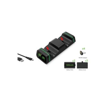Para XBOX ONE/Slim/X Controlador de jogo a base de carregamento com 2pcs Bateria 1200mah