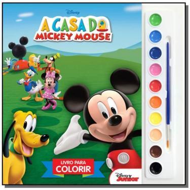 Disney - Aquarela - A Casa do Mickey Mouse - Disney - 9788536822259