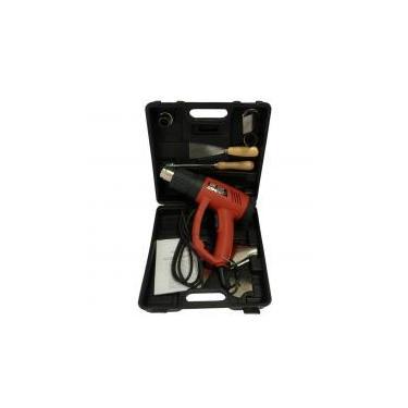 Kit Soprador Térmico 2000w Com Maleta E Ajuste De Temperatura 350 A 650 Mxt - 220v -