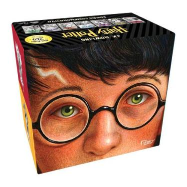 Imagem de Livro - BOX HARRY POTTER EDIÇÃO COMEMORATIVA 20 ANOS - CAPA DURA