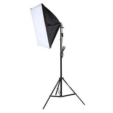 Kit Iluminação Estúdio Softbox E27 40x60cm com Tripé
