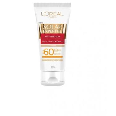 Protetor Solar Facial Expertise Loreal Antirrugas com cor FPS 60 - Lor