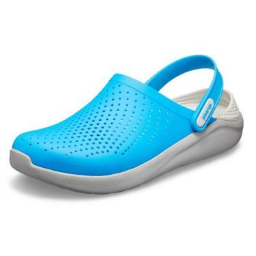 Sandalia Crocs Literide Clog Azul  unissex