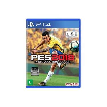 Jogo Pro Evolution Soccer 2018 - PS4