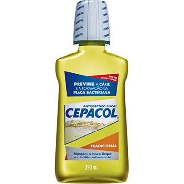 Enxaguante bucal Cepacol Tradicional, 250 ml