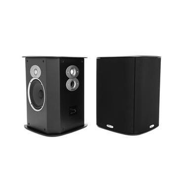 Polk Audio FXI-A6 - Par de caixas acústicas Surround Dipolar/Bipolar Black