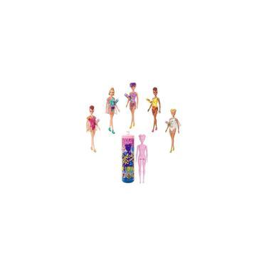 Imagem de Barbie Fashionista Estilo Surpresa Color Reveal Mattel