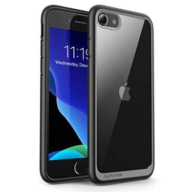 CapaSUPCASEUnicornBeetleStyle,CapaProtetoraparaiPhoneSE2ndgeração2020,iPhone7,iPhone8,HíbridaPremium(Preto)