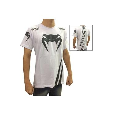 Camisa Camiseta - Cobra - Branco/Preto - Venum