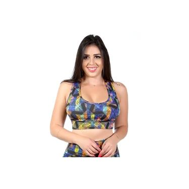 Top Fitness Go Fit Rio Amarelo/Preto