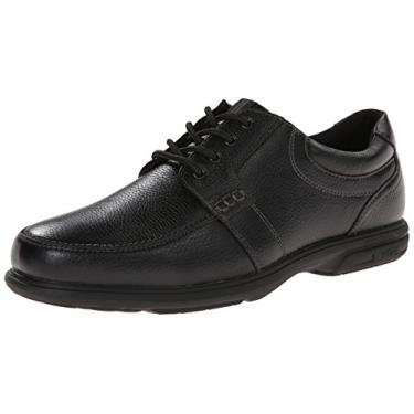 Nunn Bush Carlin Oxford masculino, Preto, 8.5