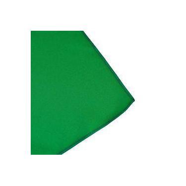 Imagem de Toalha De Mesa Cobre Mancha Redondo Em Tecido Verde Escuro 1,20m