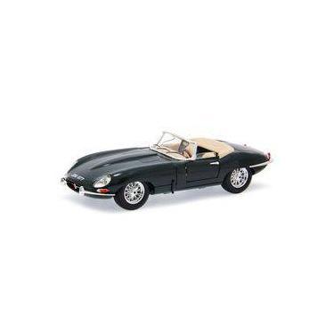 Imagem de Jaguar E-Type Convertible 1961 Bburago 1:18 Verde
