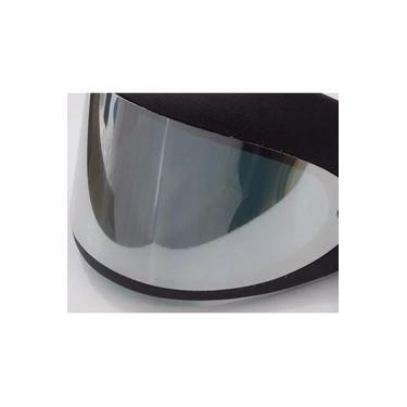 Viseira lente espelhada para Capacete Taurus San Marino