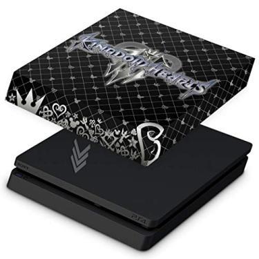 Capa Anti Poeira para PS4 Slim - Kingdom Hearts 3 III