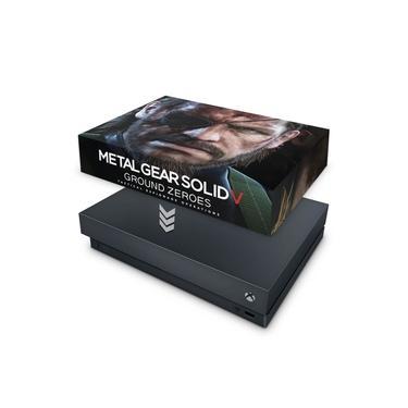 Capa Anti Poeira para Xbox One X - Metal Gear Solid V