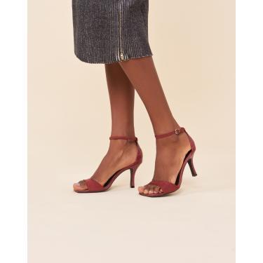 sandália basic bico quadrado