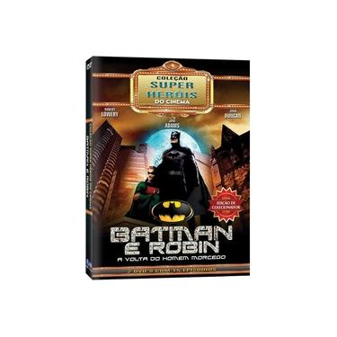 Imagem de Box Batman E Robin A Volta Do Homem Morcego Coleção Super Heróis Do Cinema 02 Dvds