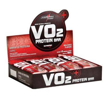 da50c7ff2 VO2 Protein Bar 12 Unidades x 30g - Integralmedica - frutas  vermelhas iorgute