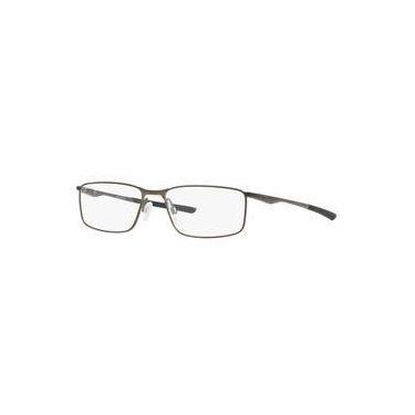 Armação Oculos Grau Oakley Socket Ox3217 0255 Ocre