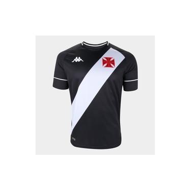 Camisa Vasco Preta Kappa