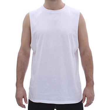 Camiseta Aveloz Regata Masculina Branca-G