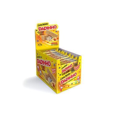 Biscoito Wafer Lanchinho Dadinho 26g c/18 - Dizioli