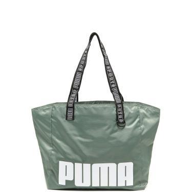 Bolsa Puma Prime Street Large Shopper Verde Puma 075409 02 feminino