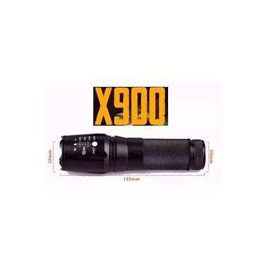 Imagem de Lanterna Tática Policial Militar X900 Bateria Recarregável