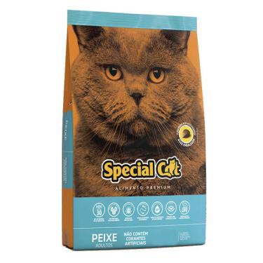 Ração Special Cat Premium Peixe para Gatos Adultos - 3 Kg