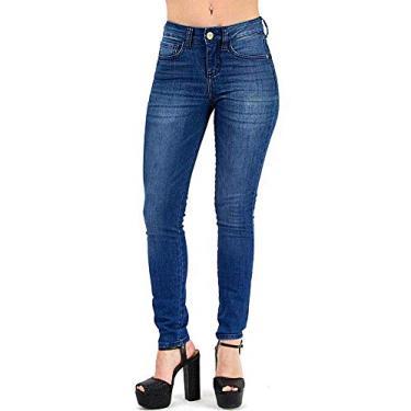 4c363be12 Calça Jeans Sommer Diane Cigarrete Feminina - Cores(azul) Tamanho Calça(44)