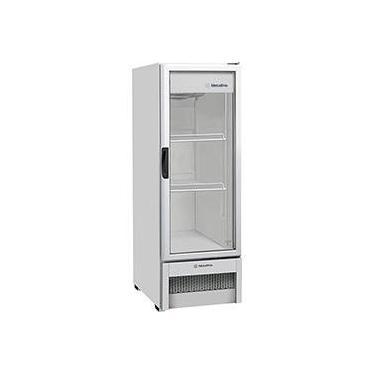 Refrigerador / Expositor Metalfrio 1 Porta Vertical VB25R com Porta de Vidro 276 litros - Branco