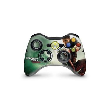 Skin Adesivo Para Xbox 360 Controle - Splinter Cell Conviction