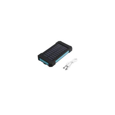Waterproof 300000mAh solar portátil Carregador Dual USB Battery Power Bank