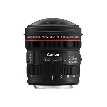 Lente Canon EF Fisheye USM 8-15mm f / 4L