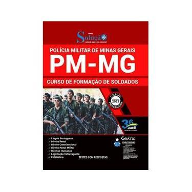Imagem de Apostila Pm Mg Polícia Militar De Minas Gerais - Soldado