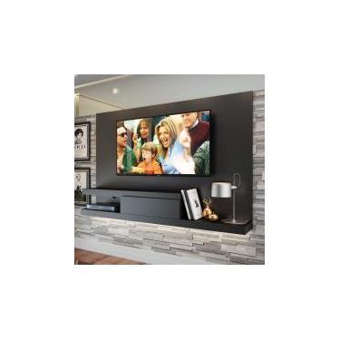 Painel para TV até 60 Polegadas 1 Gaveta KD1601 Home Quiditá Preto -