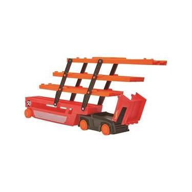 Imagem de Caminhão Hot Wheels Mega Red Hauler - Mattel