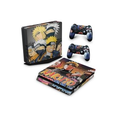 Skin Adesivo para PS4 Slim - Naruto