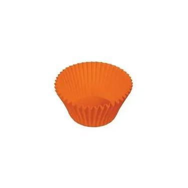 Forma Forneável Minicupcake Laranja 54 Un Ultrafest