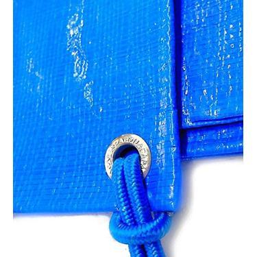 Imagem de Capa Para Piscina Leve Prática + Kit Instalação -8x4