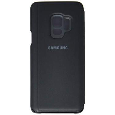 Capa Clear View Standing Galaxy S9, Samsung, Capa Protetora para Celular, Preta