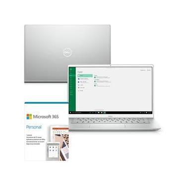 """Kit Notebook Ultrafino Dell Inspiron i5402-M10SF 14"""" Full HD 11ª G Intel Core i5 8GB 256GB SSD Windows 10 Microsoft 365"""