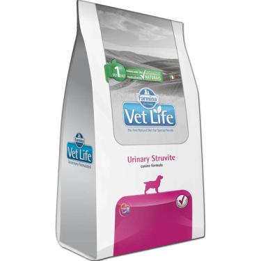 Ração Farmina Vet Life Natural Urinary Struvite para Cães Adultos om Distúrbios Urinários - 2 Kg