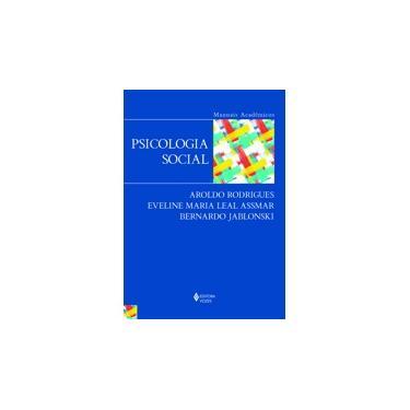Psicologia Social - Aroldo Rodrigues - 9788532652034