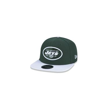Bone 9fifty Original Fit Aba Reta Ajustavel Nfl New York Jets Aba Reta Snapback Verde New Era
