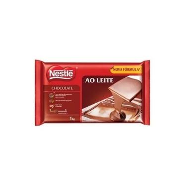 Chocolate Ao Leite Barra Derreter Nestle 1kg