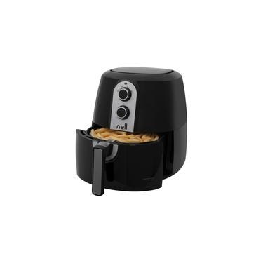 Fritadeira Elétrica sem Óleo/Air Fryer Nell - Grand Família Preto 5L