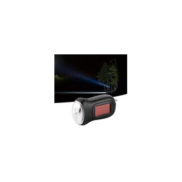 Lanterna solar com manivela Lanterna recarregável alimentada por energia solar Geradores manuais Lanterna de emergência LED tocha dínamo de emergência